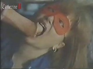 Red Mask Horse Woman Sucks And Fucks Horse And It Cums